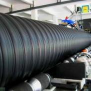 鄄城钢带管、聚乙烯钢带波纹管厂家图片