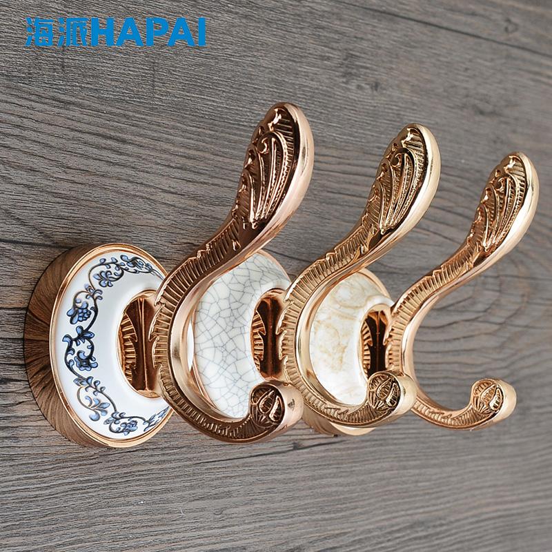 大理石陶瓷欧式挂衣钩报价