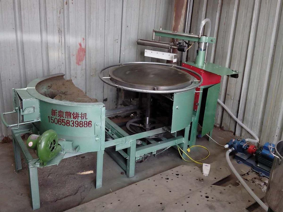 煎饼机;全自煎饼机;半自动煎饼机;蜂窝煤型煎饼机;燃煤型煎饼机;