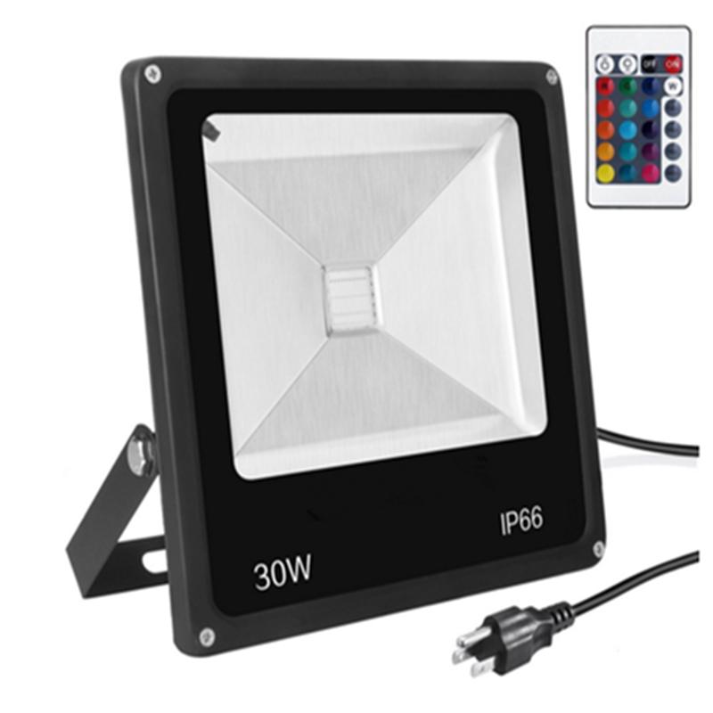 RGB LED平板 投光灯    RGB LED平板投光灯