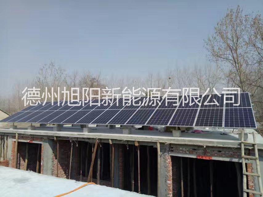 山东莱芜10千瓦家庭光伏发电系统
