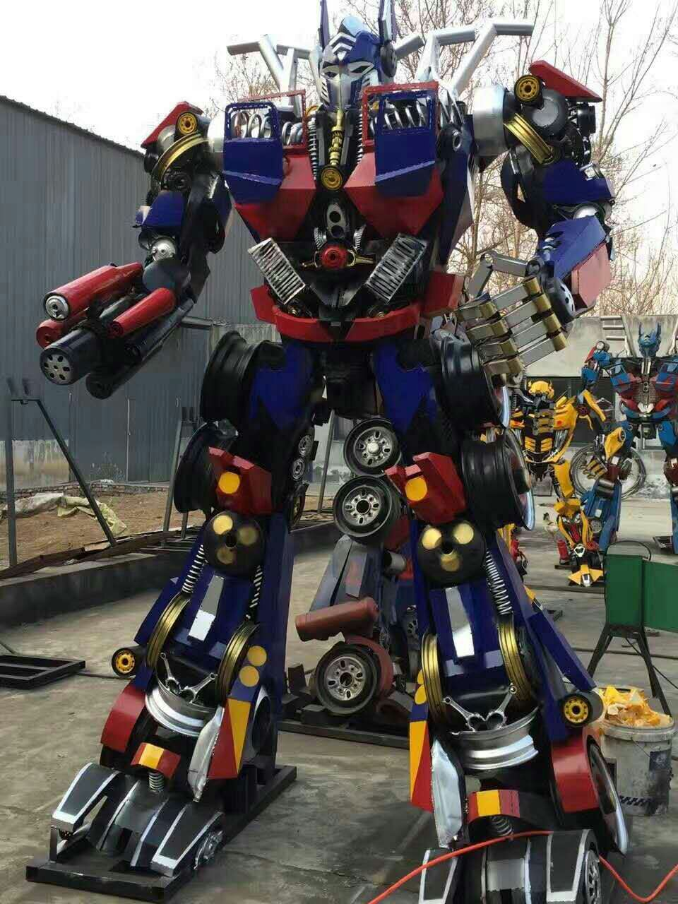 江苏变形金刚模型厂家 江苏模型造型设计 江苏模型造型定做