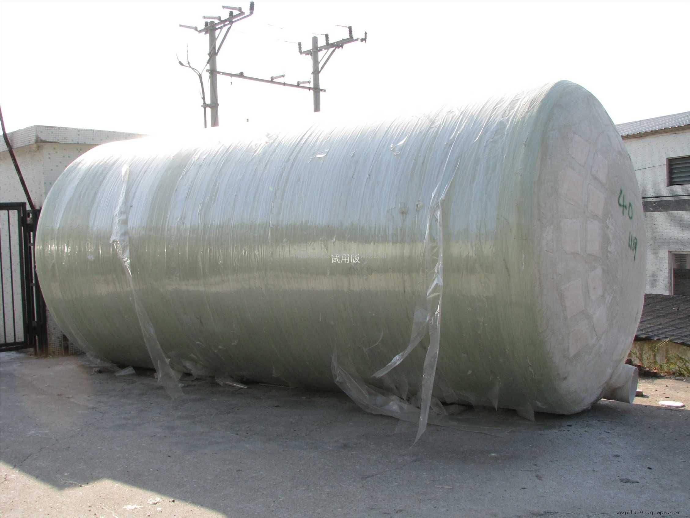 河北淮方玻璃钢化粪池厂家@优质玻璃钢罐厂家直销 优质玻璃钢化粪池 优质污水处理设备