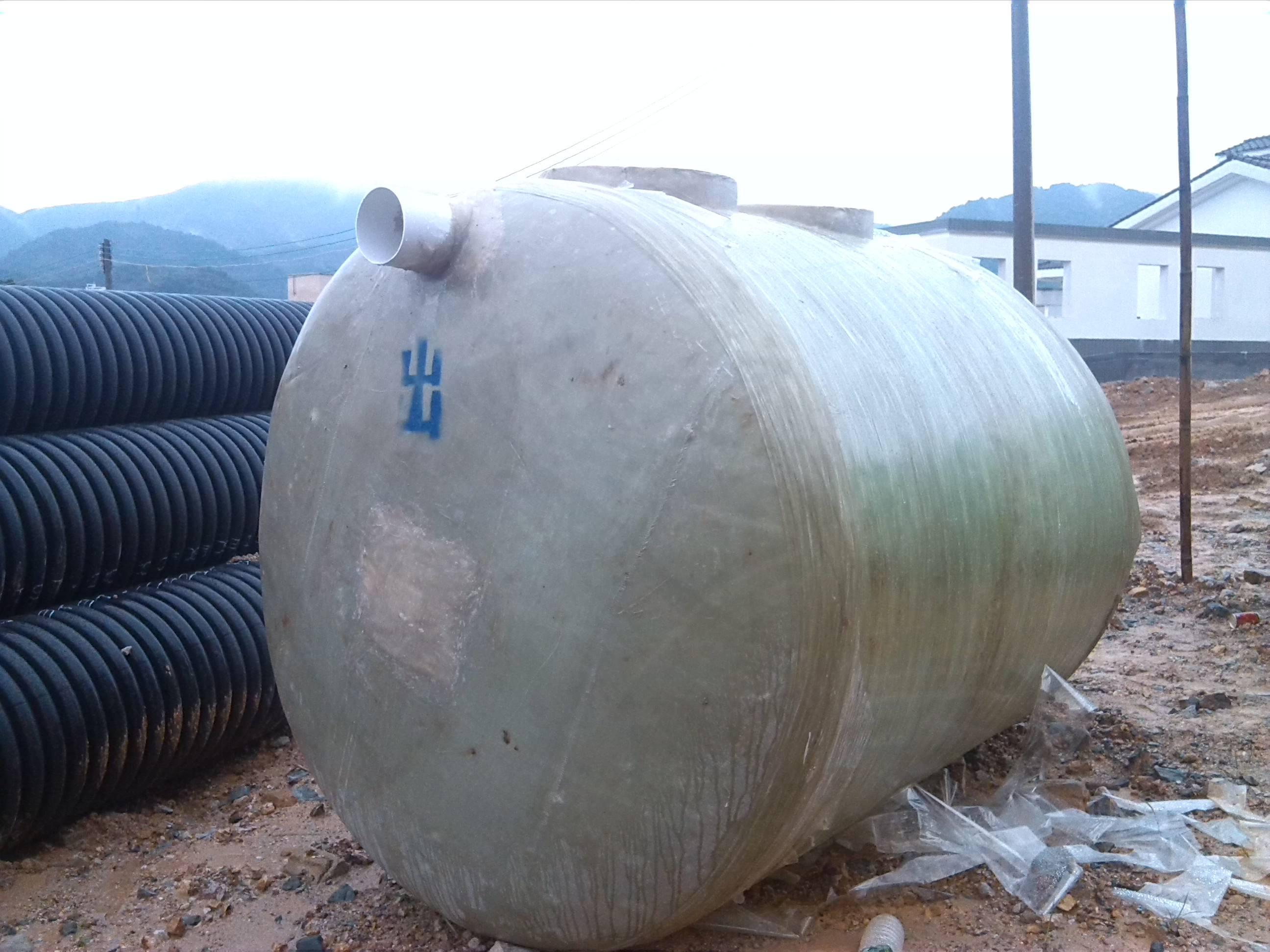 污水处理设备@玻璃钢化粪池@玻璃钢罐