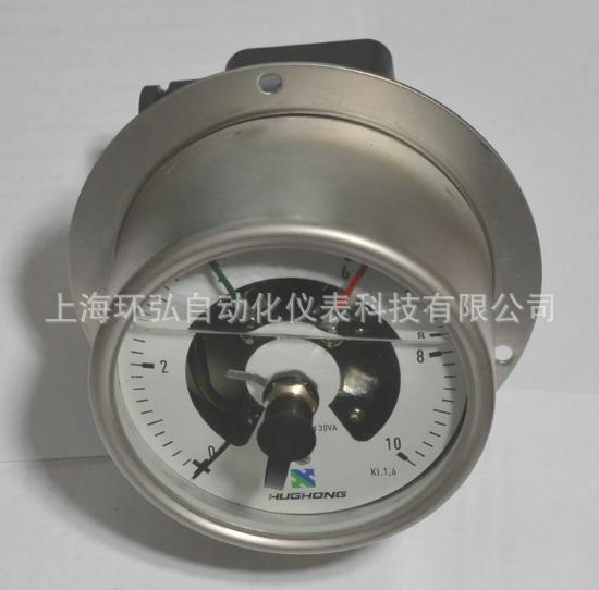 厂家热销YNXC-100T威卡式不锈钢耐震电接点压力表 电接点压