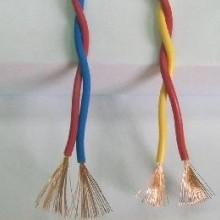 RVS聚氯乙烯软电线  铜芯聚氯乙烯绝缘绞型连接花线批发