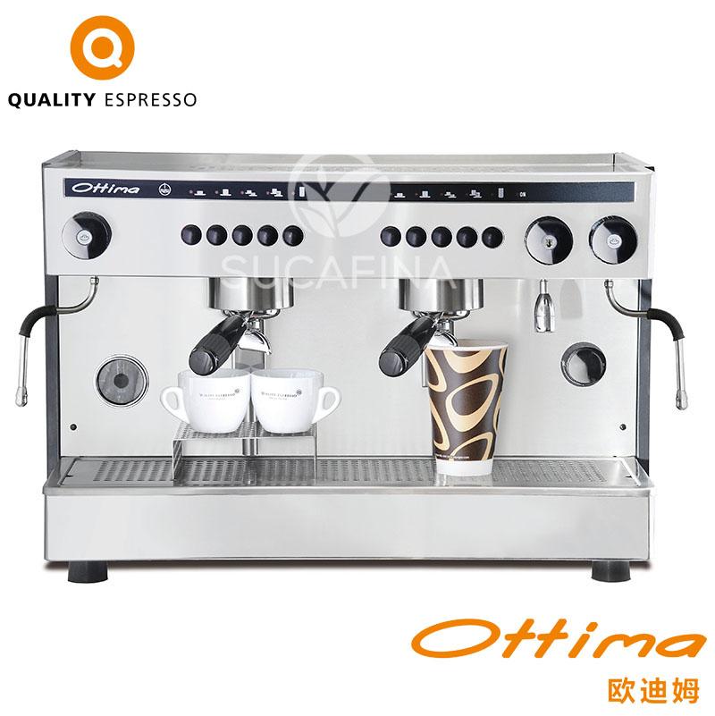 QUALITY ESPRESSO OTTIMA半自动咖啡机商用双头电控高杯