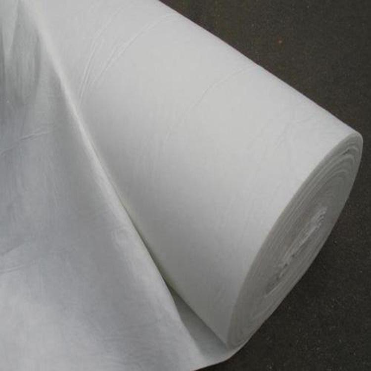 上海马路养护土工布 河道翻修土工布  土工布批发价格 土工布供应商 白色土工布 白色土工布250g