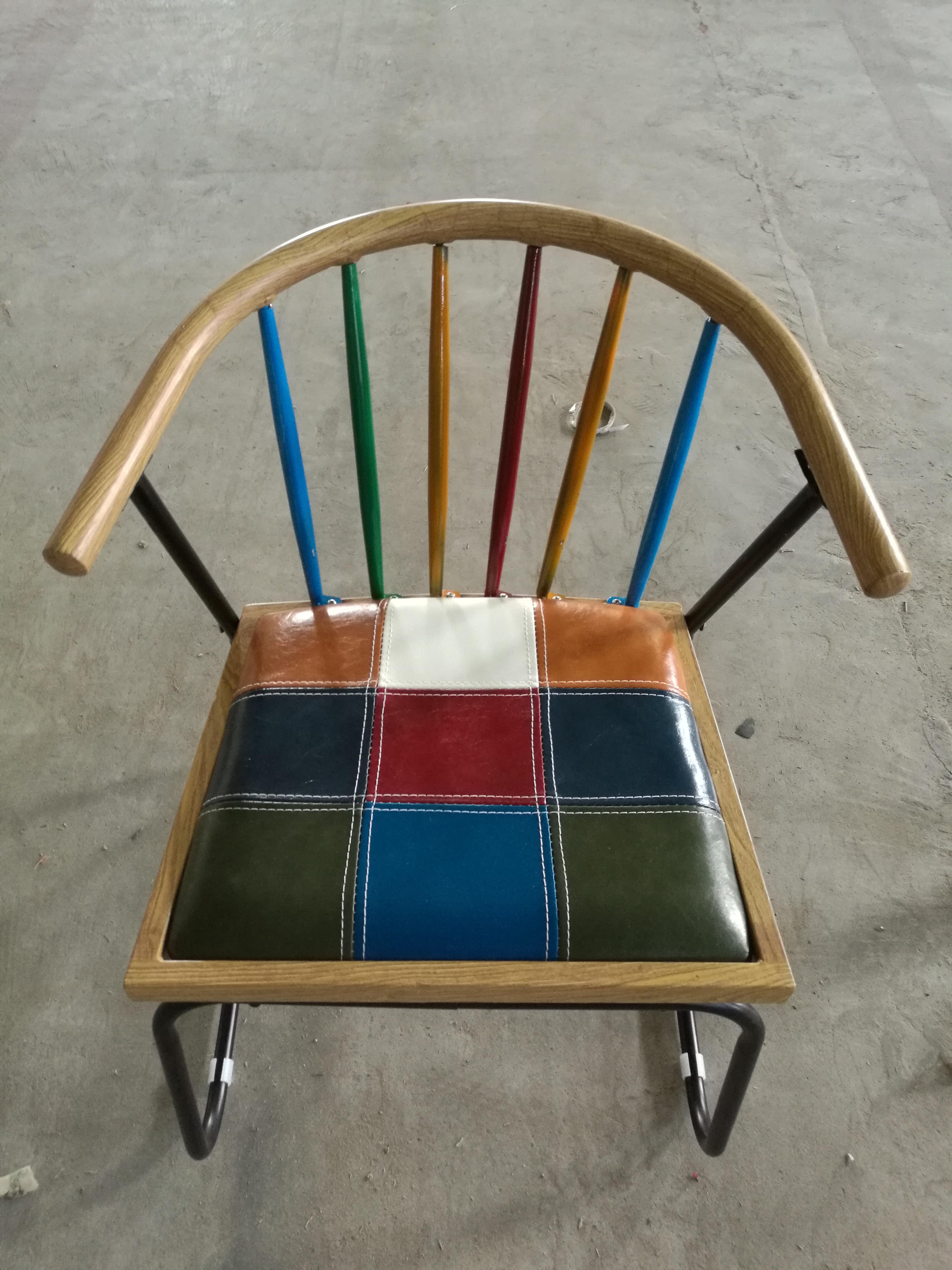 卡航家具厂家直销酒店椅 宴会椅餐椅  皮革休闲会议椅 时尚餐厅椅