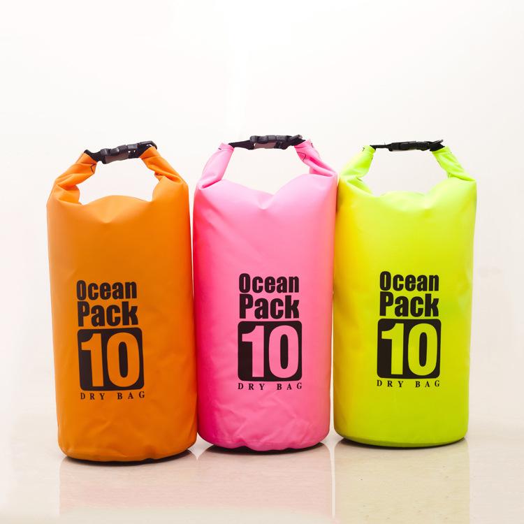 2017新品户外防水包防水袋 防水桶 10L