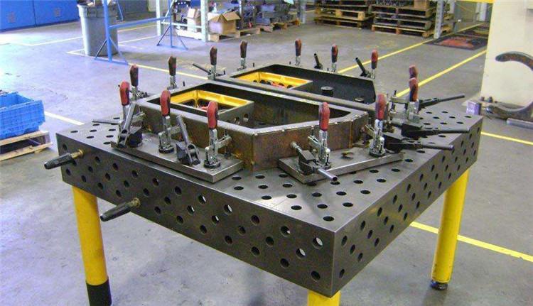 三维柔性焊接平台 1000*1000*200 博创机械大量库存现货 三维柔性焊接平台 机械焊接平台