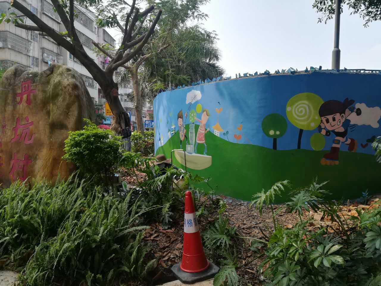 汕头专业墙绘、壁画、手绘3D墙画