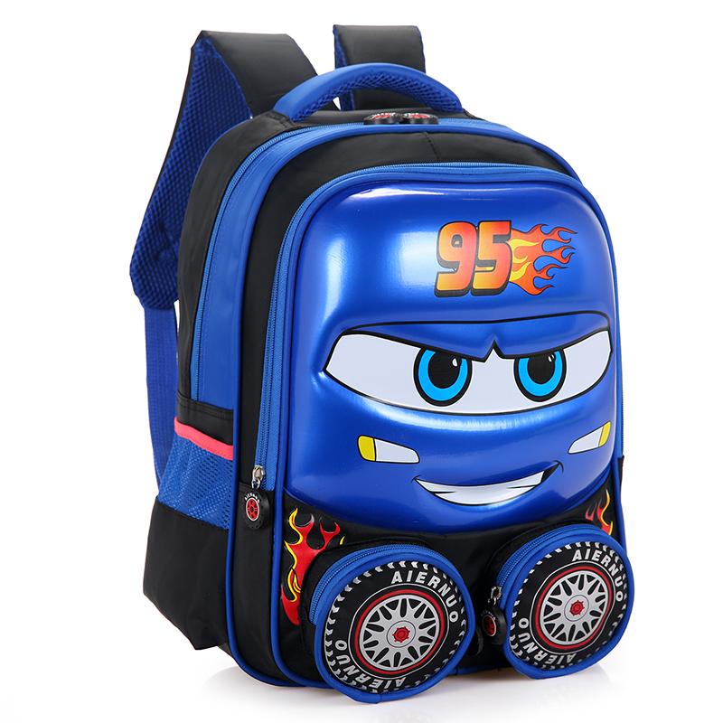 幼儿园3D立体硬壳汽车书包批发 幼儿园3D立体硬壳汽车书包价格
