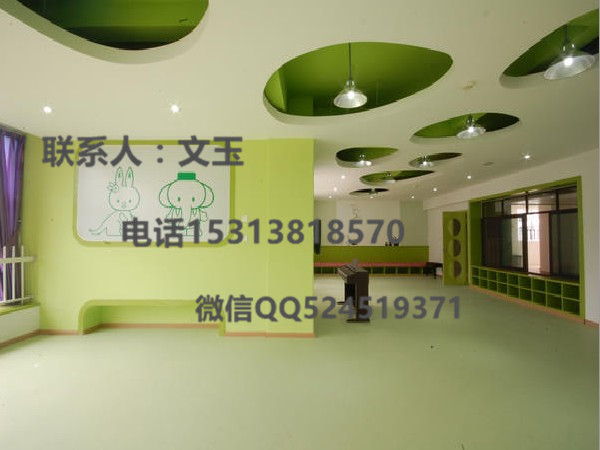 育婴室环保地胶,育婴房安全地胶垫,幼儿活动安全胶垫 硕驰PVC地板
