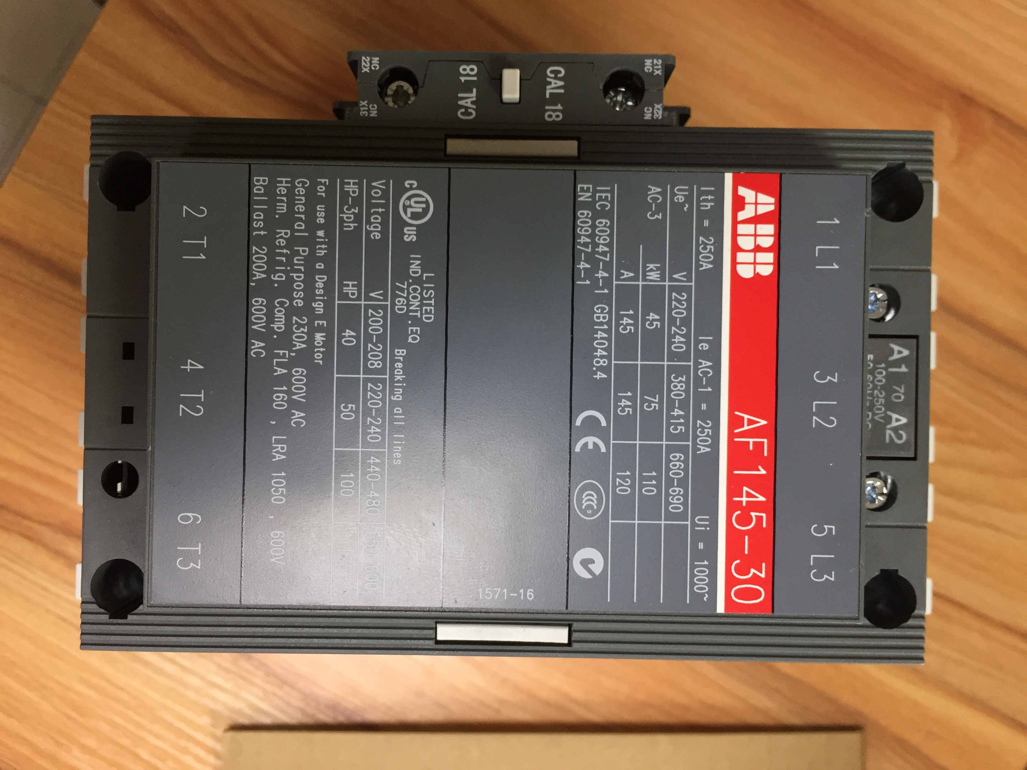 ABB塑壳断路器S6N800 PR/211-LI对电动机等绕组型负载提供线路保护 S6N800 PR/211-LI