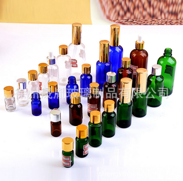 厂家 定做批发香水瓶 滴管喷雾膏霜玻璃乳液精油瓶化妆品玻璃瓶批发