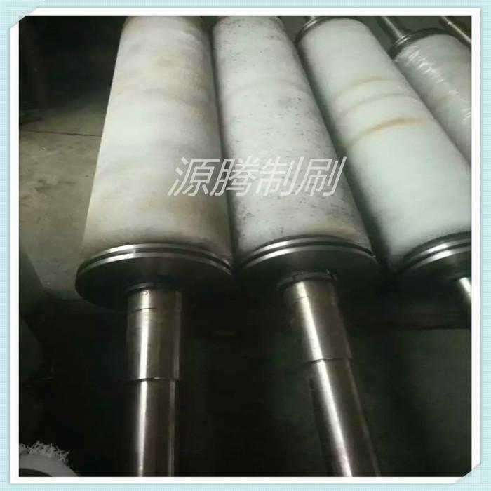 钢板厂毛刷辊 磨料丝毛刷辊 磨料丝刷轮 碳化硅刷辊 氧化铝刷辊