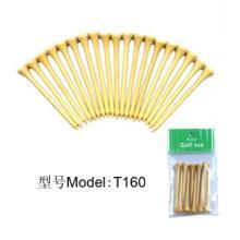 高尔夫橡胶塑胶球钉 竹木制限位球钉 高尔夫用品配件 便捷式高尔夫球钉