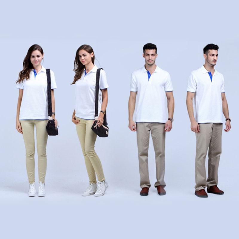 厂家专业生产 新款2017供应 拼色双袖口与双下摆 价格优异 现货出售 拼色领T恤