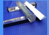 光学仪器仪表配件带夹具三棱镜直角镀膜分光三棱镜光学透镜