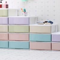 收纳柜 2017韩版塑料保洁篮收纳柜子 儿童婴儿衣柜客厅衣服储物柜