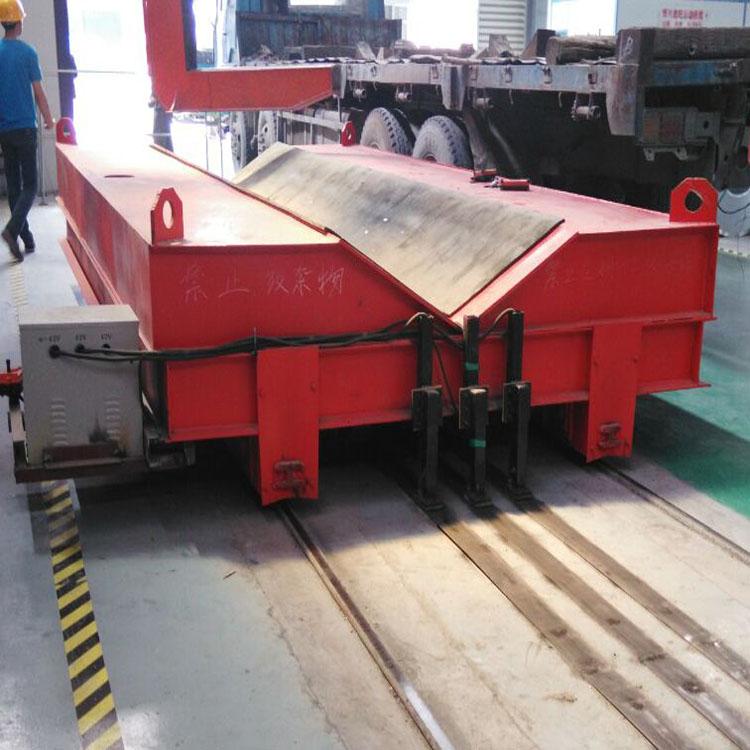 专业设计制作电动轨道牵引平板车10吨20吨30吨轨道牵引平板车
