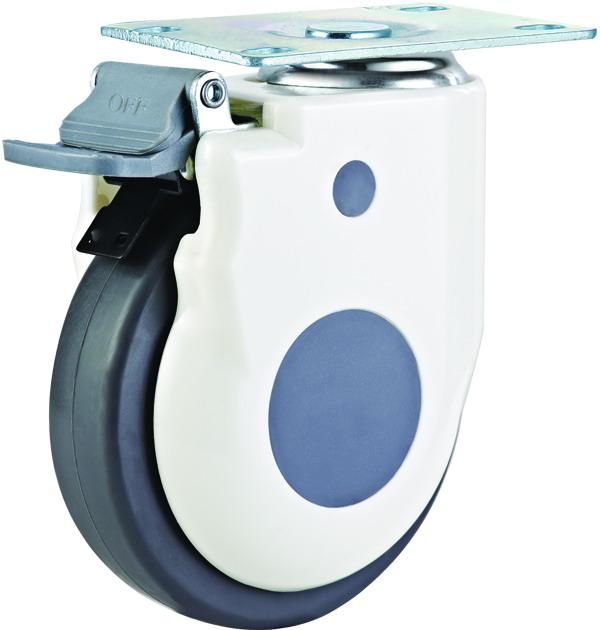 5寸美式医疗设备轮 静音脚轮 静音万向脚轮 器械脚轮 5寸美式医疗设备轮 静音脚轮报价 5寸美式医疗设备轮 静音脚轮批发
