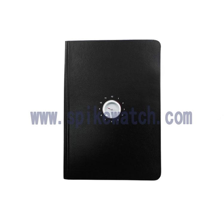 手表厂家供应新款时尚商务笔记本钟表时光旅行笔记本