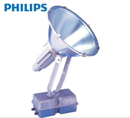 飞利浦投光灯HNF207大功率圆形聚光投光灯HPI-T2000W宽配光投射灯