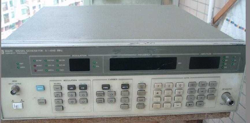 供应HP8657A信号发生器