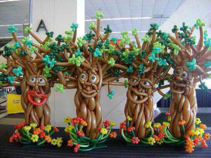 南充万圣节气球布置 南充万圣节|圣诞节气球布置