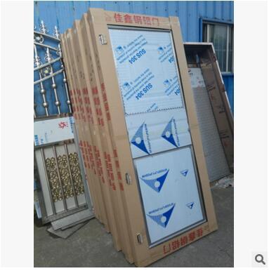201不锈钢管子门 45*75管890*2050标准门 厂家直销
