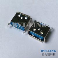 北京USB3.0直立式母座价格_北京USB3.0连接器生产厂家