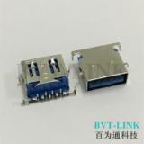 深圳USB3.0 沉板式母座直销 深圳USB3.0 沉板式母座厂
