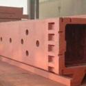 机床立柱 机床床身  立车工作台 大型床身铸件