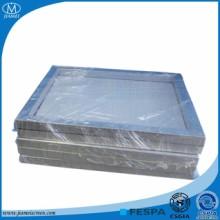 玻璃陶瓷 印刷铝网框 18*22*1.0 空心型材网框厂家批发