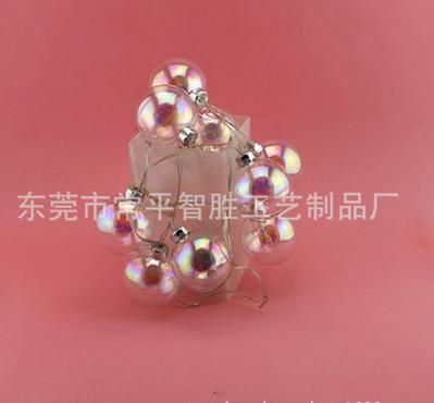 电池led彩灯串  LED圣诞吊饰批发  圣诞节气氛装饰挂饰   LED圣诞吊饰