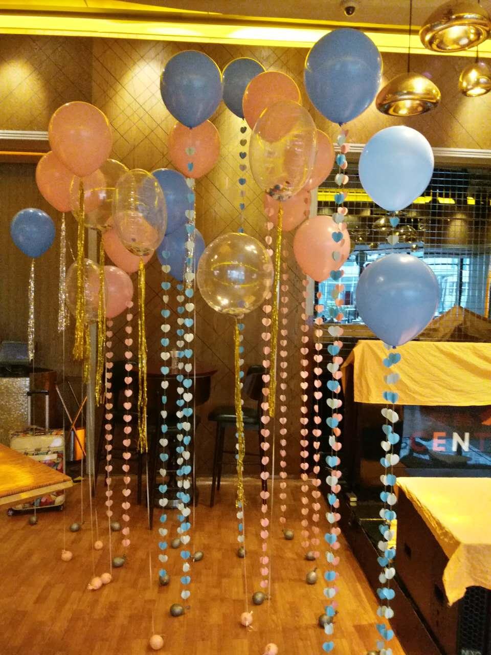 北京婚礼气球布置,婚房气球装饰,批发进口氦气球,气球造型制作