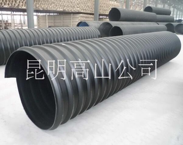 云南昆明HDPE钢带管厂家直销,昆明HDPE钢带管价格