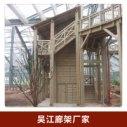 吴江廊架厂家户外防腐木园林景观工程木结构长廊花架碳化木葡萄架