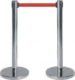 伸缩排队护栏
