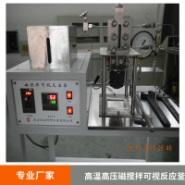 高温高压磁搅拌可视反应釜图片