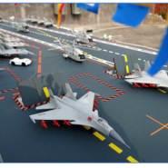 滕州航母模型图片