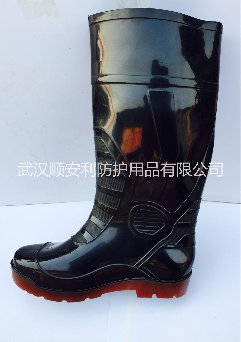 武汉劳保雨鞋男式高筒雨鞋批发民用男工高筒雨鞋