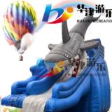 厂家定做支架水池玩具水上乐园充气滑梯 充气滑梯厂家直销