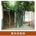 室内人造假树图片