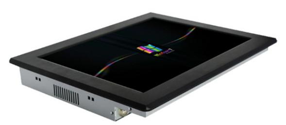17寸无风扇工业平板电脑终端查询工业触控一体机稳定性强