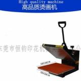 38*38平板烫画机 平板手动高压烫画 手压烫画机织带烫印机