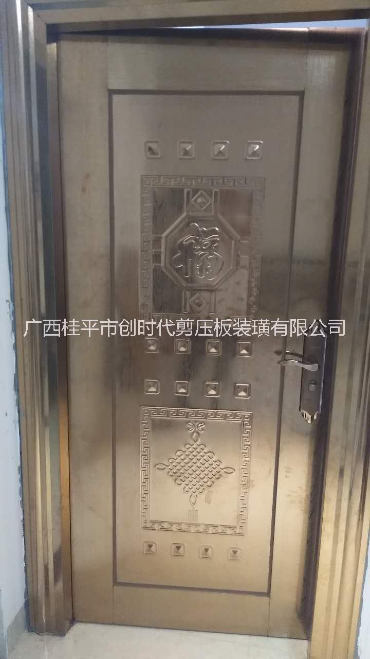 201不锈钢压板门 桂平不锈钢压板门 商品房不锈钢门