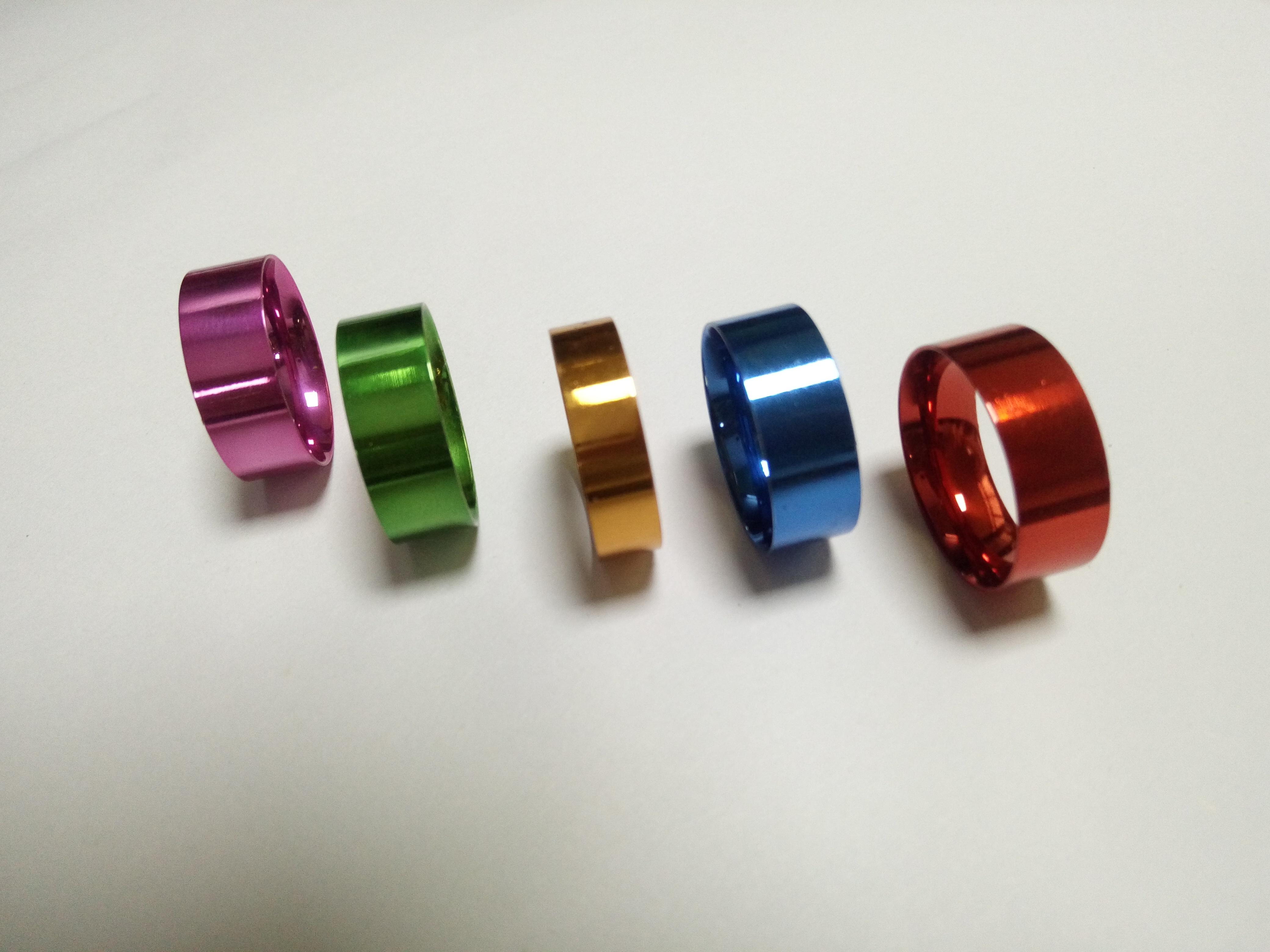 不锈钢电镀彩色电泳加工 电泳加工锌合金产品 彩色电泳加工批发厂